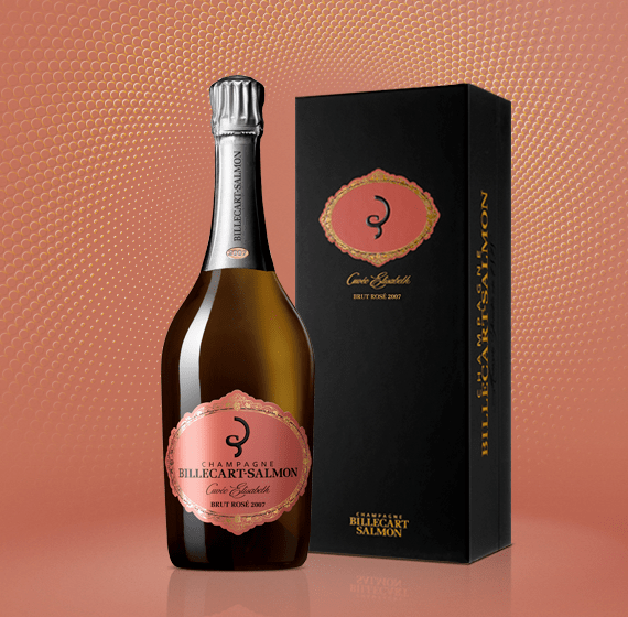 champagne billecart-salmon millesime elisabeth rose